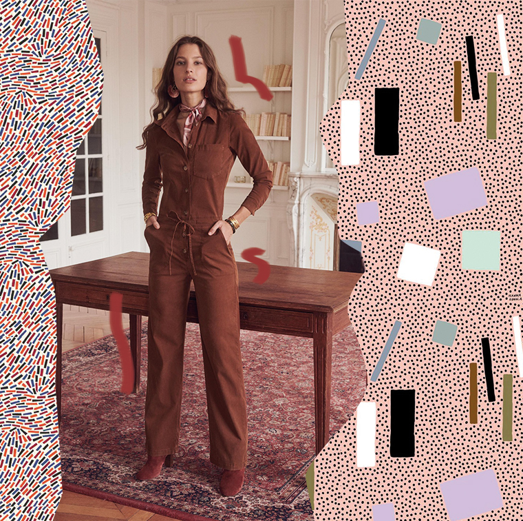 Combinaison pantalon et bottines a talons