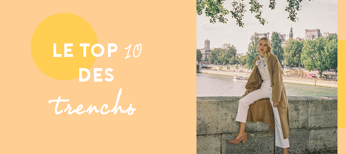 Top 10 Trenchs Tendances