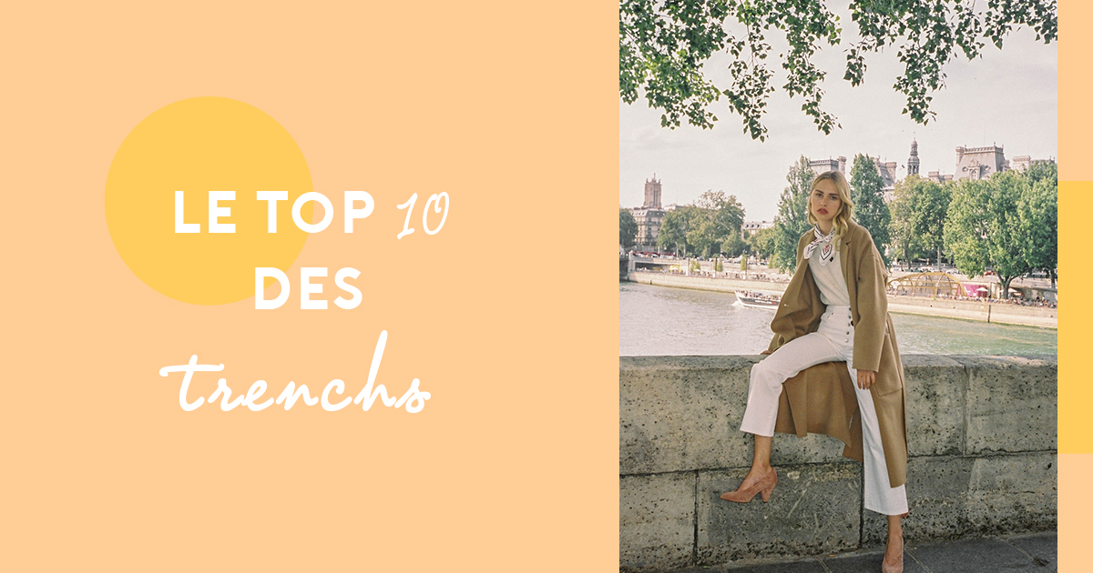 1a5699c6731b Fashion  the 10 most trendy must-have trench coats