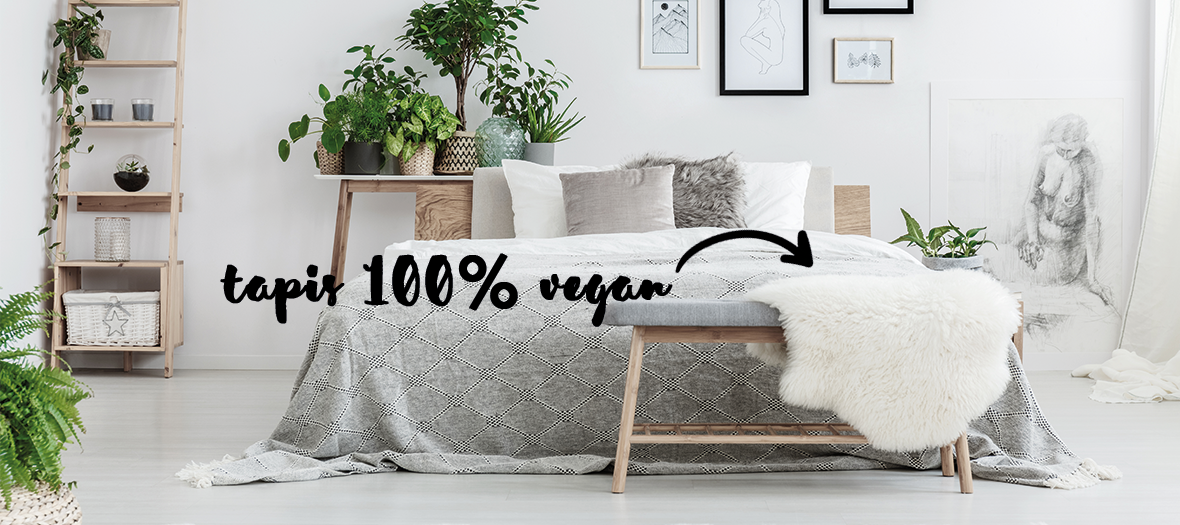 tapis vegan decoration