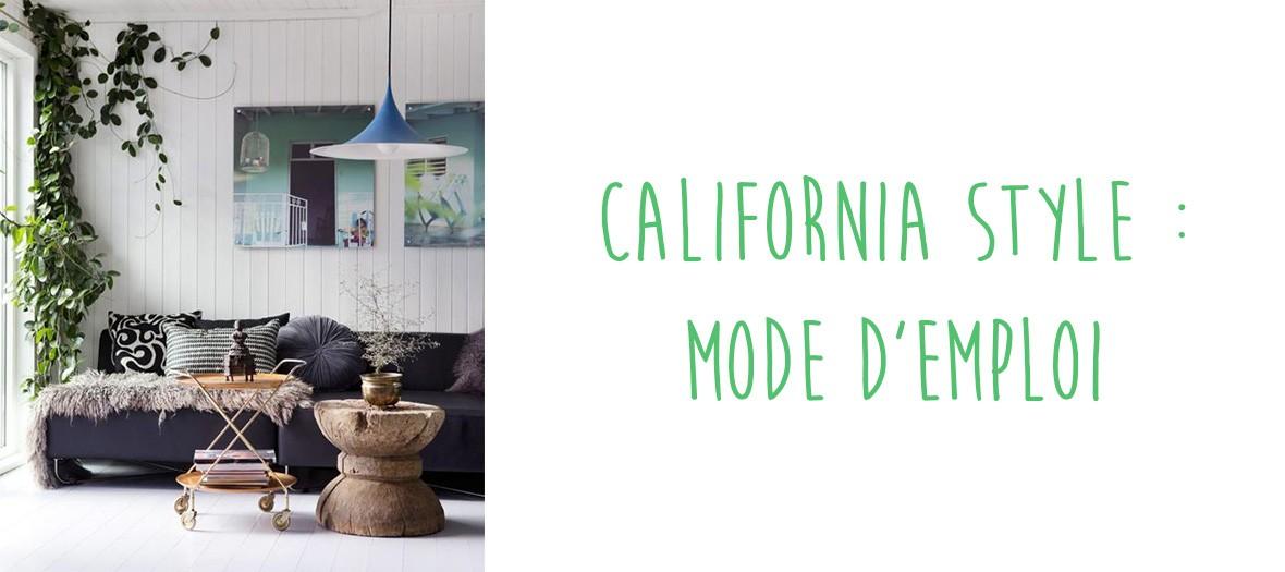 Décoration tendance et californienne