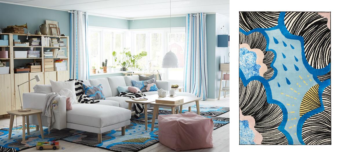 tapis fusion couleurs