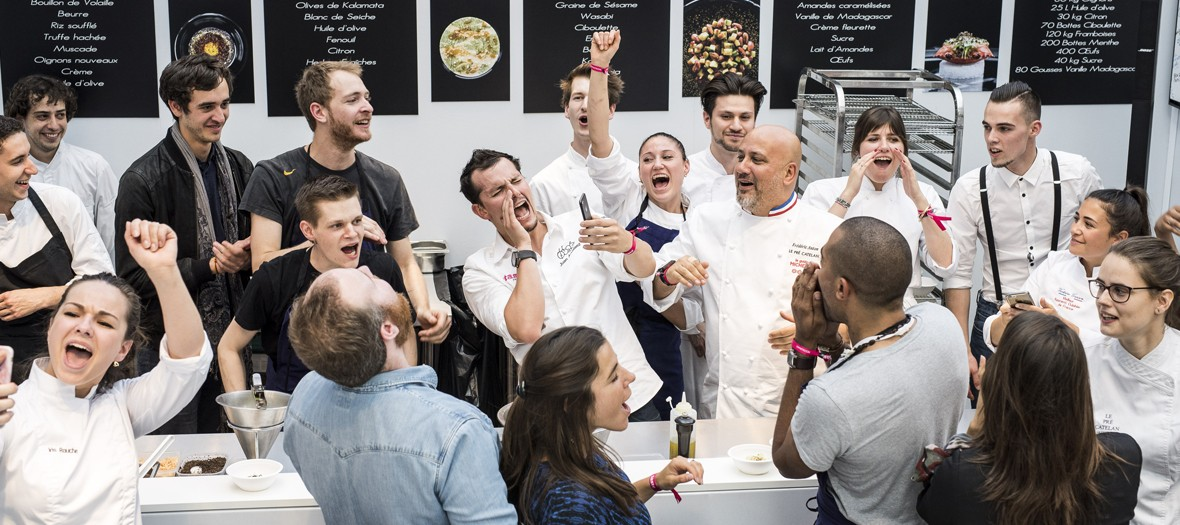 Festival food des plus grands chefs de Paris au Grand Palais