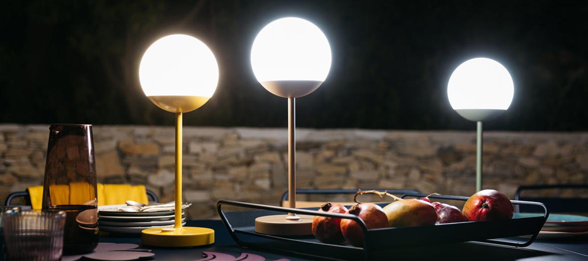 Lampes, guirlandes, Maison du Monde, Fermod