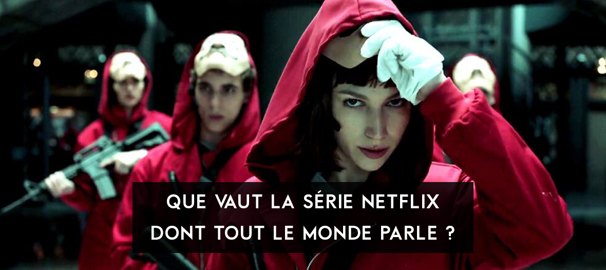 Saison 2 of La Casa de Papel with Úrsula Corberó and Miguel Herrán