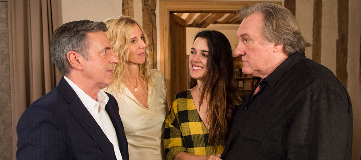 Extract of the film with Adriana Ugarte, Daniel Auteuil, Gérard Depardieu and Sandrine Kiberlain