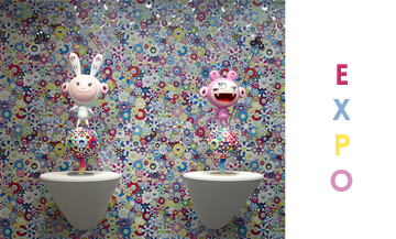 Takashi Murakami at the Louis Vuitton Foundation