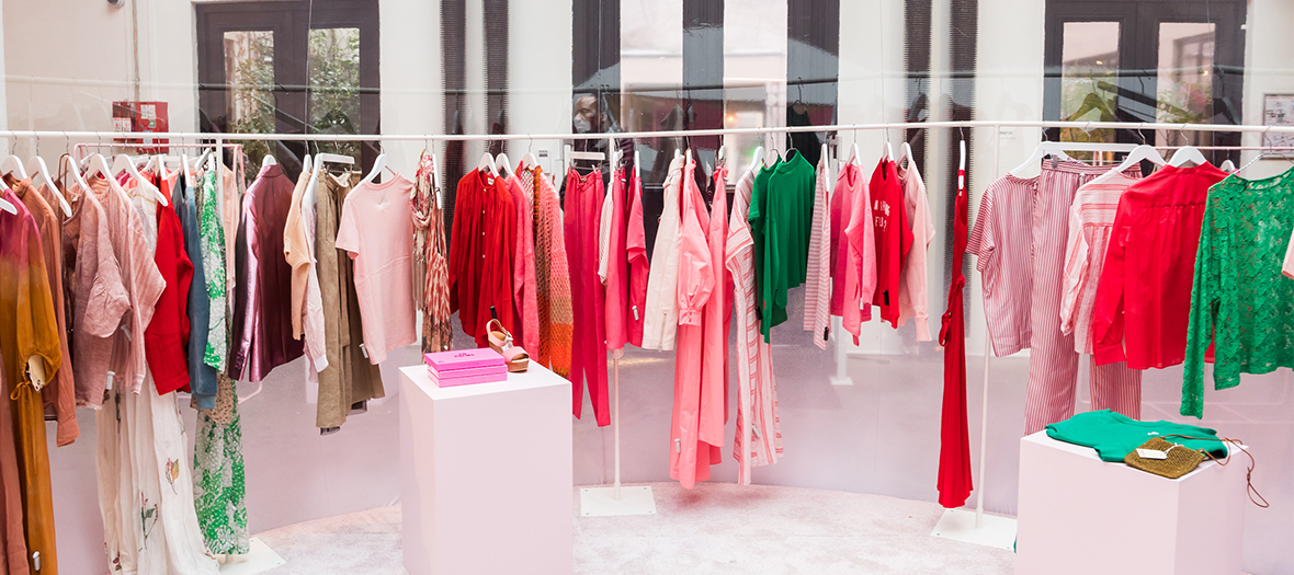 Merci en Rose: the all-pink pop-up store for Paris Fashion Week