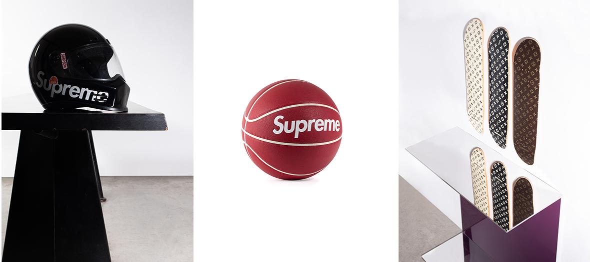 Enchères Supreme objets