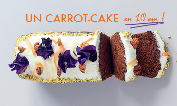 Le carrot-cake le plus simple du monde
