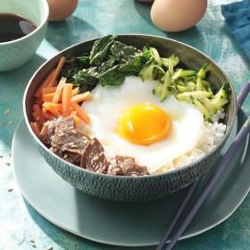 Recette bibimbap coréen