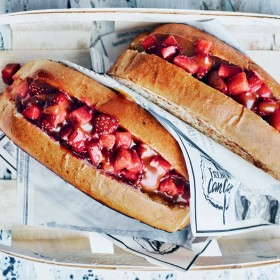Hot Dog Fraise