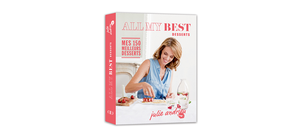 livre recette julie andrieu