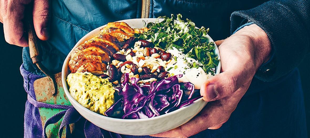 Recette du healthy bowl de Catherine Kluger