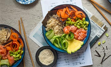 Buddha Bowl : when sushi is destructured