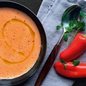 Recette soupe au poivron
