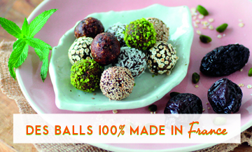 Impossible to resist energy balls filled with dried prunes