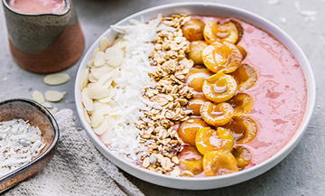 The perfect smoothie-bowl  for the new Fall season