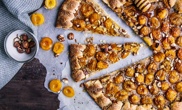 The perfect recipe for a mirabelle tart