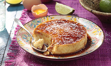 Do you know Mexican-style flan?