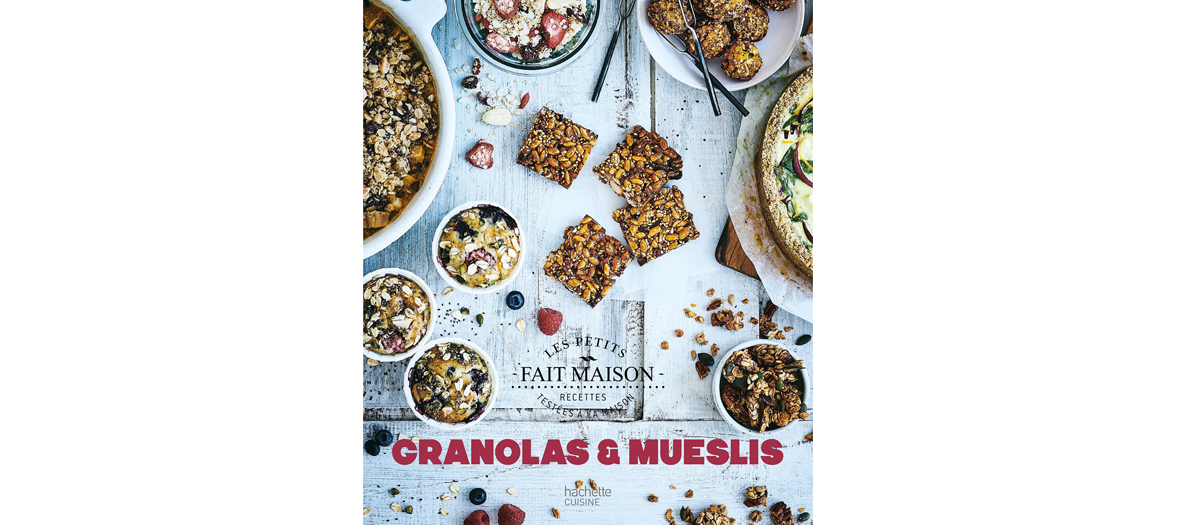 Livre de recettes de Soizic Chomel de Varagnes, éditions Hachette Cuisine