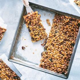 Recette barre de céréales mueslis et granola