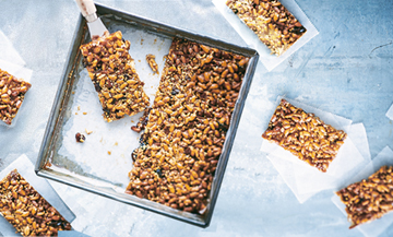 Prepare your own cereal bars