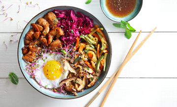 How to make a bibimbap at home ?