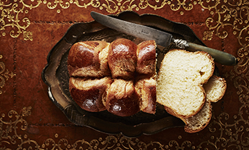 The recipe for Jacques Genin's braided brioche