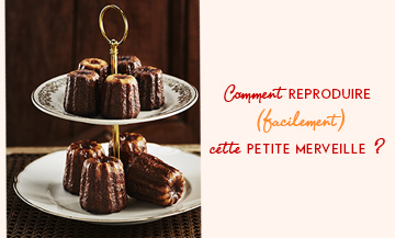 The marvelous cannelé recipe of Jacques Genin