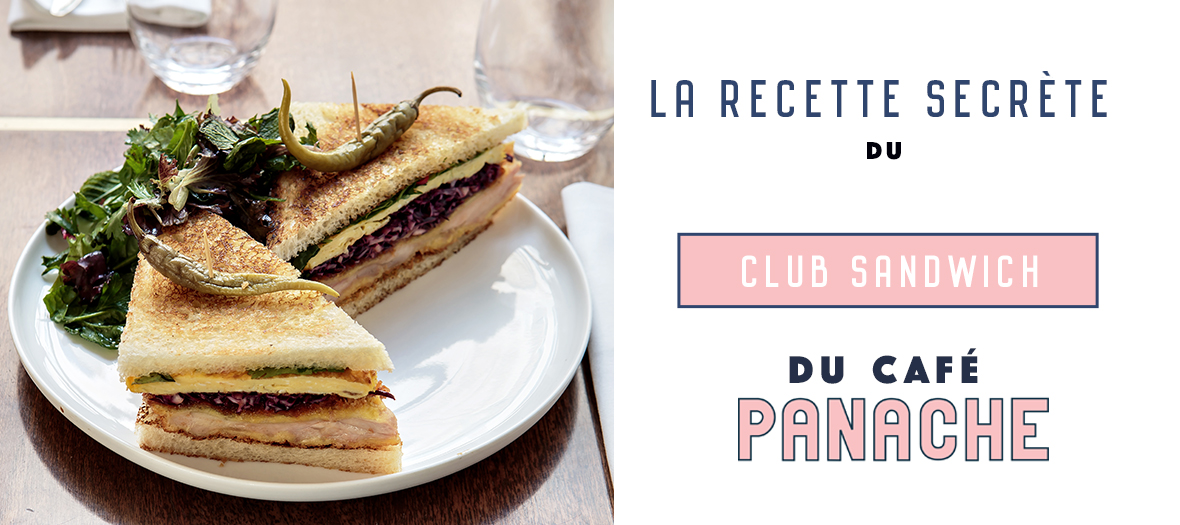 Club Sandwich Tonkatsu Du Cafe Panache