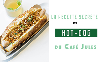 The hot dog recipe of Fabien Lefebvre