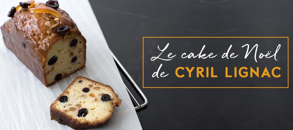 Recette Cake De Noel Cyril Lignac
