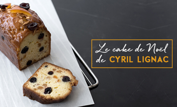 The Christmas fruit cake of Cyril Lignac