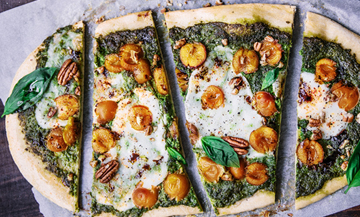 The most chic pizza for the Fall