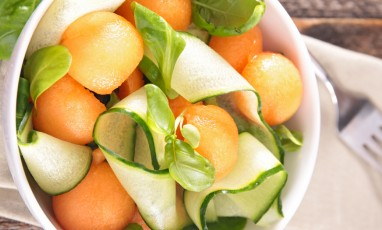 Salade Melon Courgette