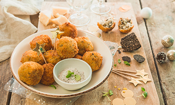 Yummy: arancini with truffles