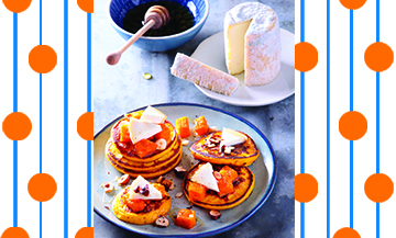 Indulge in a savoury pancakes whimsy
