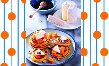 Recette de pancakes sans gluten sucre sale