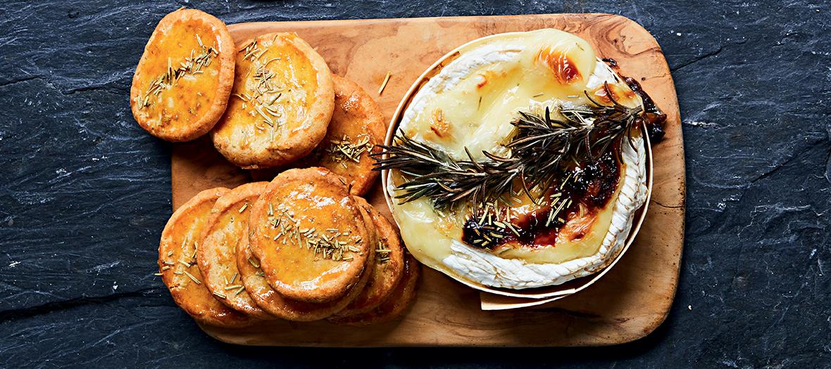 Camembert Sables Miel Romarin