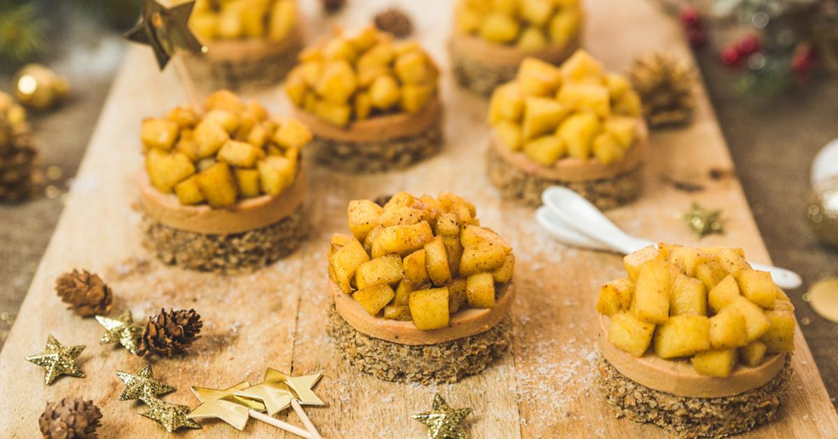 The Recipe For A Mini Tatin With Foie Gras