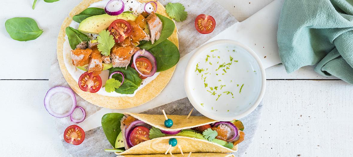 Recette Tacos Thon