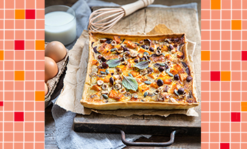 The veggie salty Winter tart