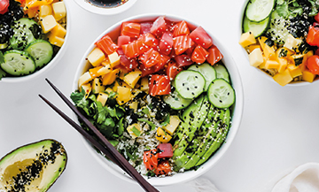 The poke bowl festival has landed in Paris !