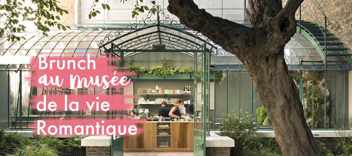 Brunch dans le jardin du Musee de la vie romantique