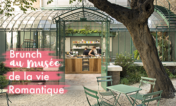 Brunch in the most poetic garden of Paris