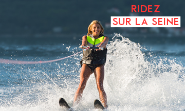 Le ski nautique made in Paris, c'est so chic