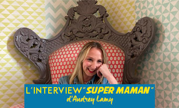 Audrey Lamy Interview