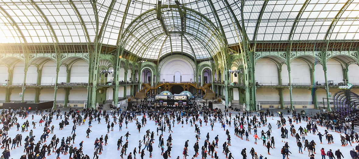 Patinoire Grand Palais Paris