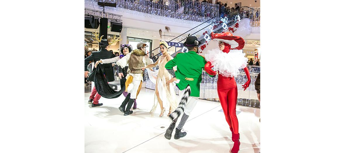 Spectacle de Noël à Beaugrenelle